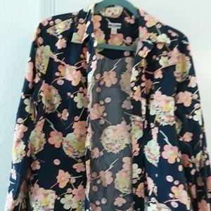 Floral cowboy shirt